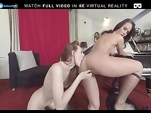 VR Porn Threesome Concerning Denise Coupled with Ariadna BaDoink VR
