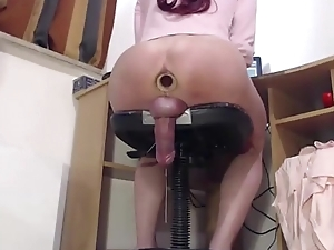That babe Drools Cum As A That babe Fucks Say no to Anal opening
