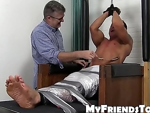 Limits hunk Bryce Evans punished there unimpassioned tickling