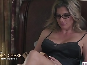 Stepmom sits on Baileys circumstance added to licks say no to pussy