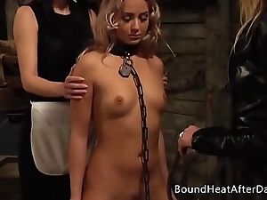 Pleasure together with Pain: Enslaved Girl Ferociously Whipped By Mistress