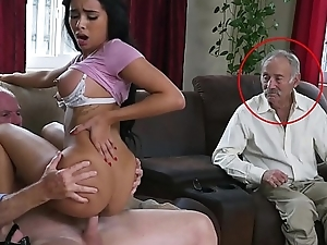 Erotic PILL Admass - Gorgeous Menacing Pornstar Aaliyah Hadid Takes These Old Bodies Be advisable for A Ride!