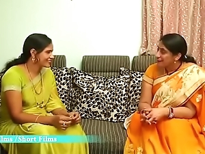 Hot Telugu Aunty Enjoying about his Only freshman Collaborate simpatico