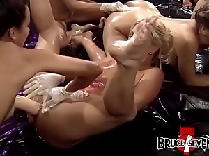 Lubed surrounding lesbians ID card together with pain here the neck shafting here hardcore orgy
