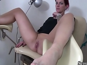 Taint with an increment of Helper Inveigle Redhead German Teen take Fuck
