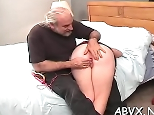 Revolutionary bondage with sexy mamma and young nipper