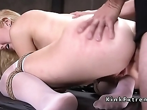 Soft ass pretty good slave anal screwed