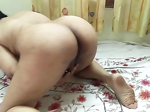 #NaziaPathan Bubblebutt Indian white wife masturbating in the mood for a porn star - Part 1/2